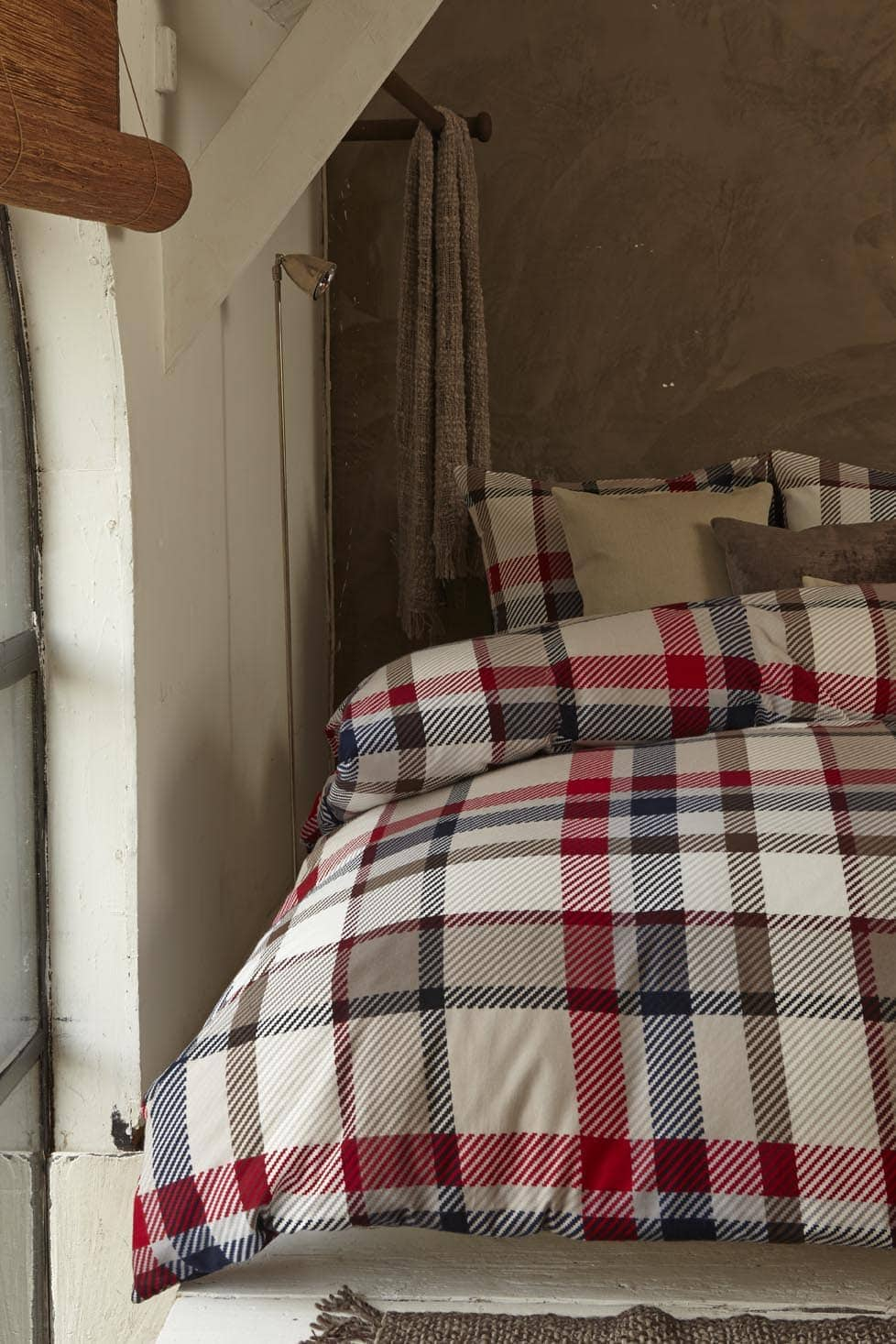 Beddinghouse Sherlock red 100% flanel